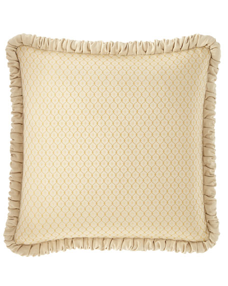 Austin Horn Collection Serafina Diamond European Sham