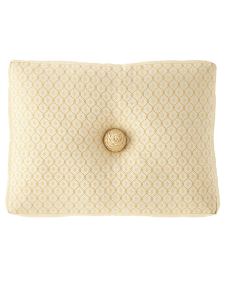 "Serafina Boxed Boudoir Pillow, 15"" x 20"""