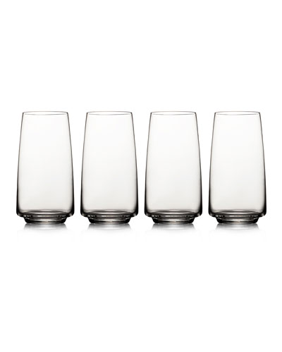 Lumina High Ball Glasses, Set 4