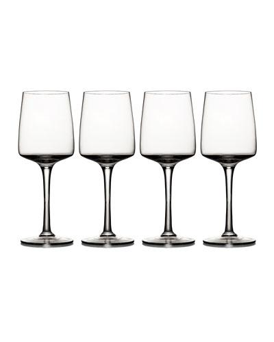 Lumina Red Wine Glasses, Set 4
