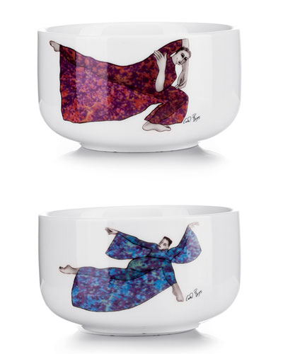 Balancing Act Small Bowls  Set of 2