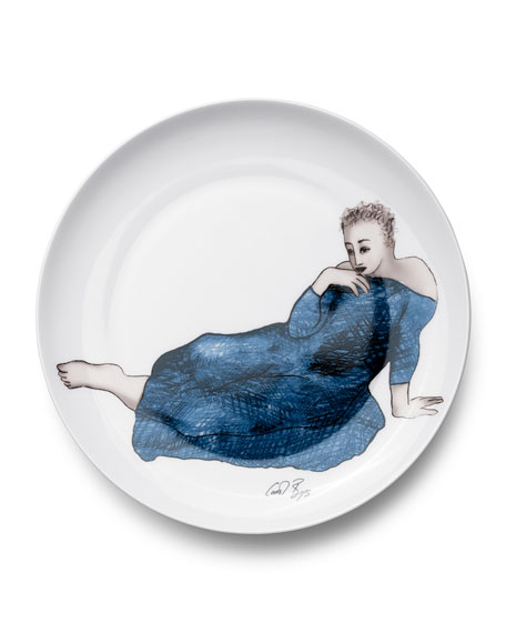 Carrol Boyes Enticing Dinner Plates, Set Of 4