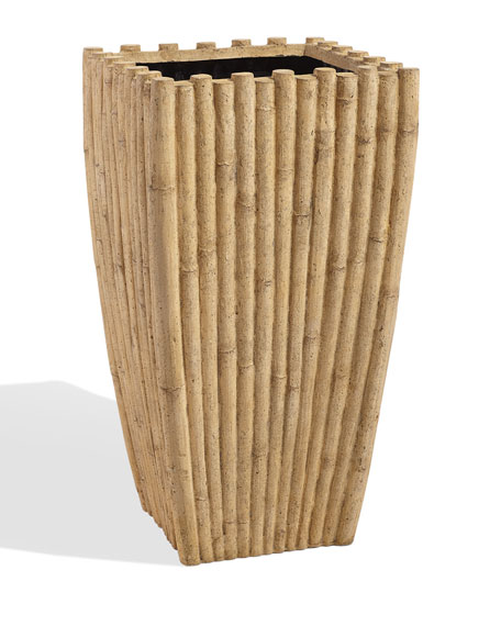 Indoor/Outdoor Bamboo Planter