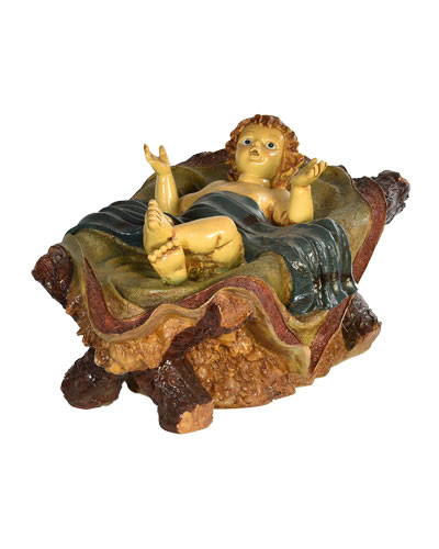 Live Form Small Nativity Baby Jesus Outdoor Christmas Decoration