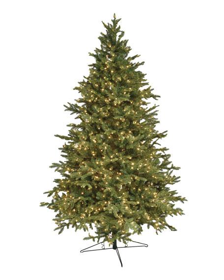 Alaskan Deluxe Warm White LED Christmas Tree, 12'