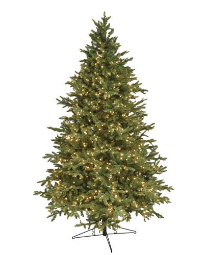 Alaskan Deluxe Warm White LED Christmas Tree, 9'