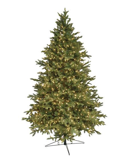 Alaskan Deluxe Warm White LED Christmas Tree, 7.5'