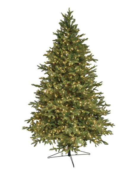 Alaskan Deluxe Warm White LED Christmas Tree, 10'