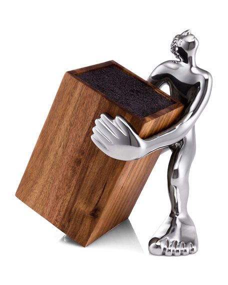 Carrol Boyes Look Sharp Knife Block Holder