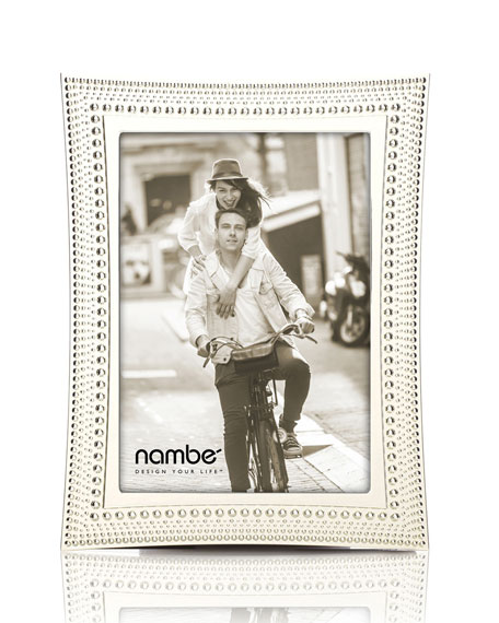 Nambe Beaded Picture Frame, 5