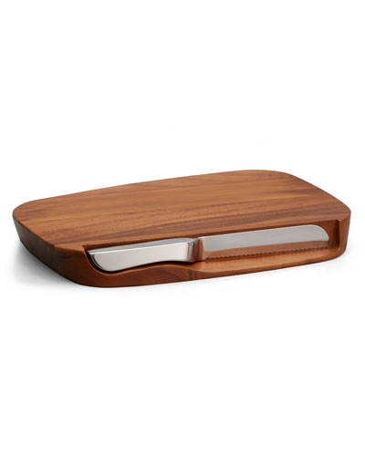 Blend Bread Board with Knife