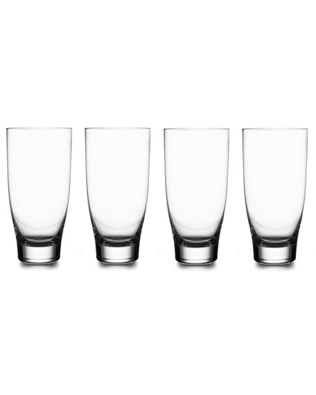 Nambe Vie Highball Glasses, Set of 4