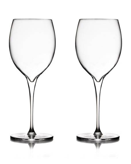 Nambe Vie Chardonnay Glasses, Set of 2