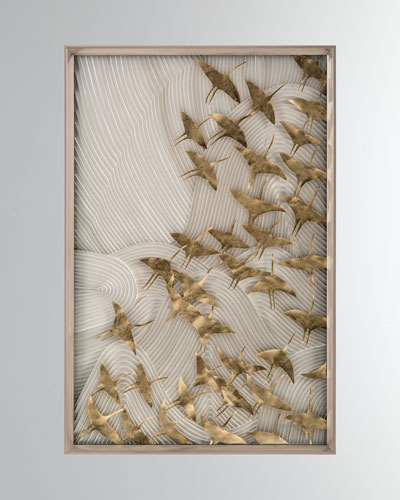 Robot's Birds In Flight Wall Art