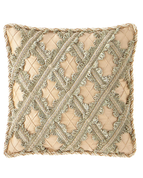 Gianna Lattice Boutique Pillow