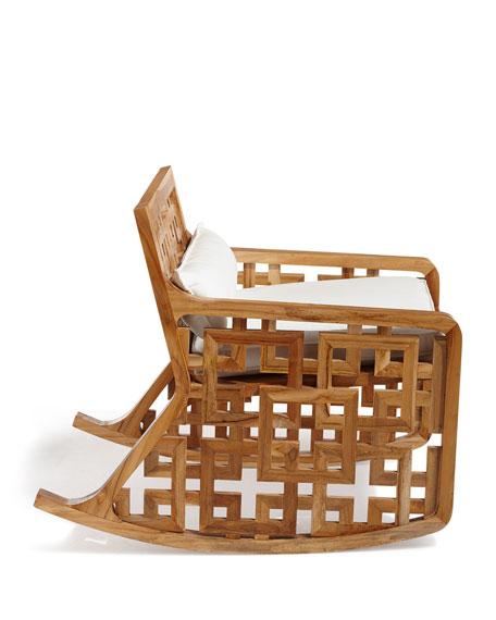 Matis Teak Rocking Chair
