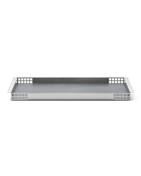 Matrix Mirror Stainless Steel Tray