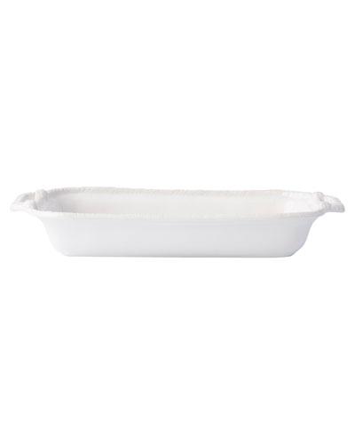 Le Panier White-Wash Shallow Baker