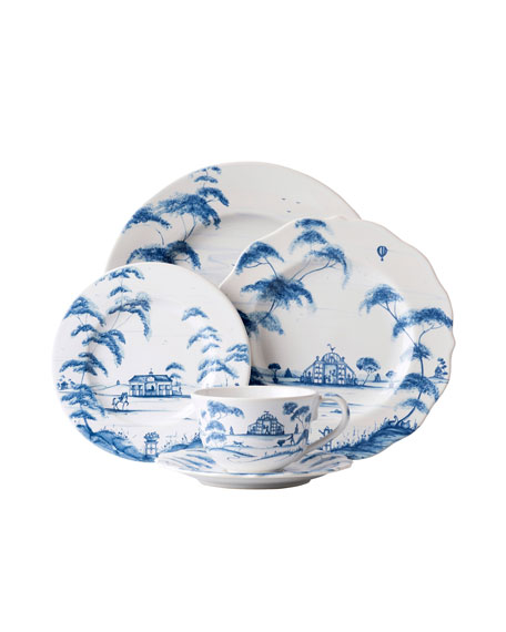Juliska 5-Piece Country Estate Delft Blue Dinnerware Place