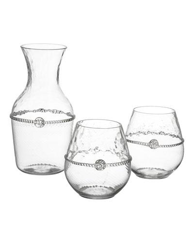 Graham Carafe & Stemless Red Wine Glasses Gift Set