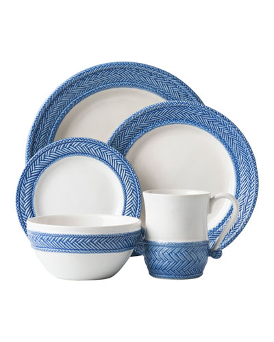 5-Piece Le Panier Delft Blue Dinnerware Place Setting
