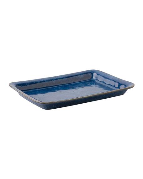 Puro Dappled Cobalt  Platter