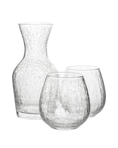 Hugo Wine Carafe & Stemless Glasses Gift Set