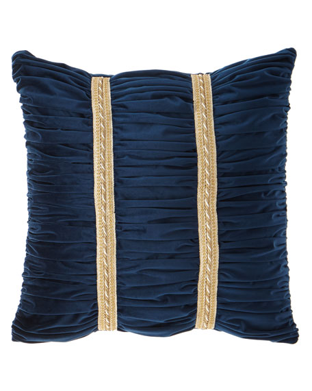 Dian Austin Couture Home Belle Ruched Velvet European