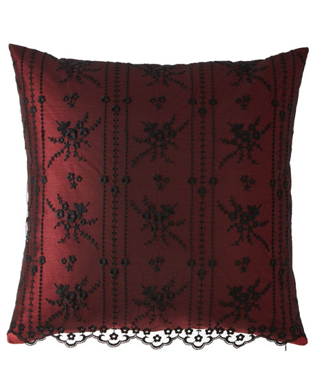 Dian Austin Couture Home Macbeth Lace European Sham