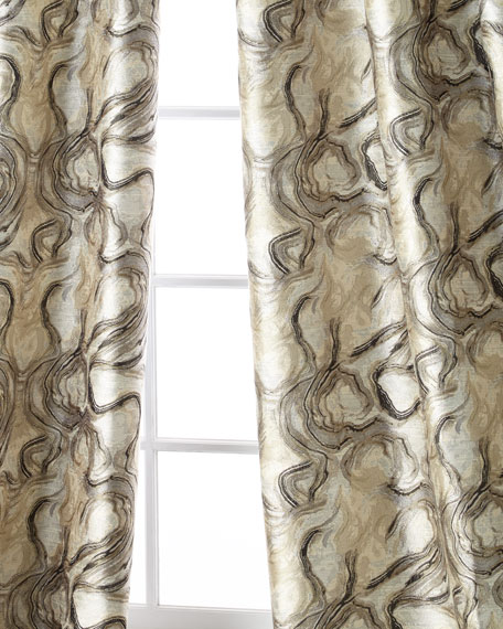 Dian Austin Couture Home Driftwood Curtain Panel, 108