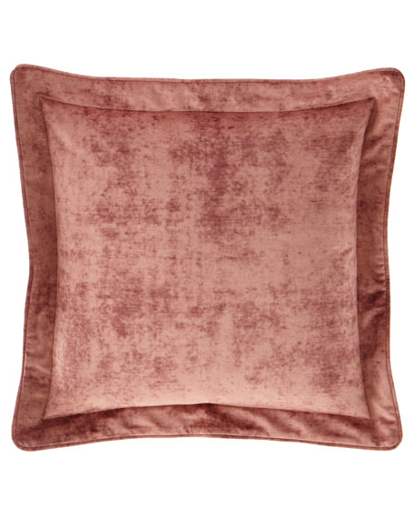All in Bloom Solid Velvet European Sham