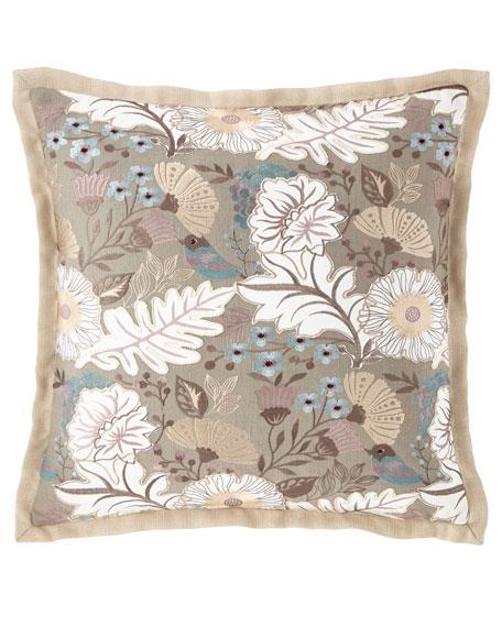 Austin Horn Collection Camellia Pillow
