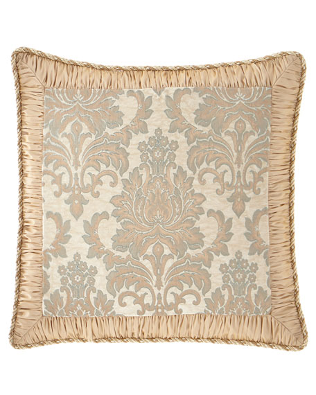 Sweet Dreams Gianna European Sham with Damask Center