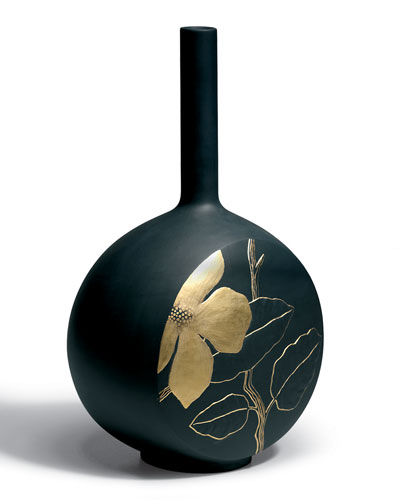 Flower Twig Canvas Vase