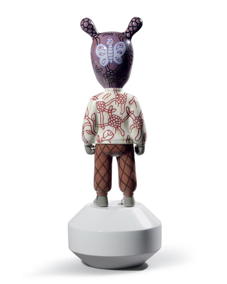"""The Guest"" Figurine by Gary Baseman"