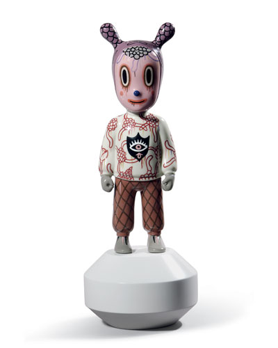 The Guest Figurine by Gary Baseman