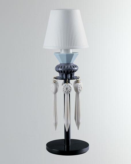 Belle de Nuit Lithophane Lamp, Black
