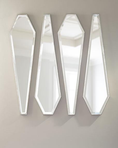 Mirror Decor, Set of 4