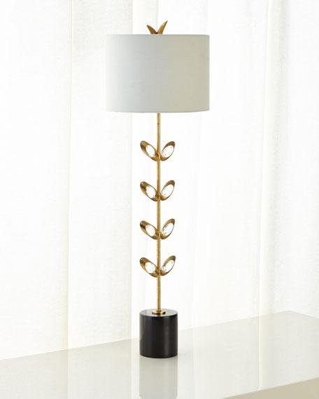 John-Richard Collection Crystal Bud Buffet Lamp