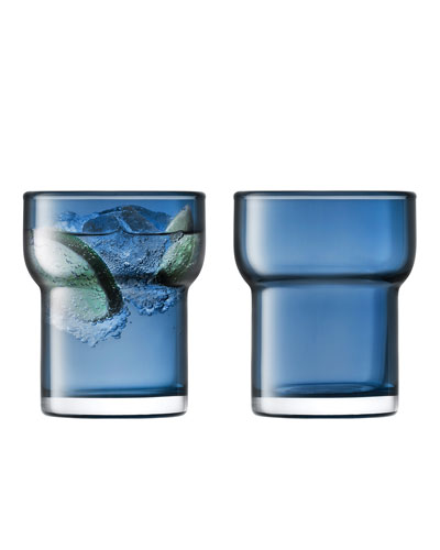Utility Sapphire Tumblers  Set of 2