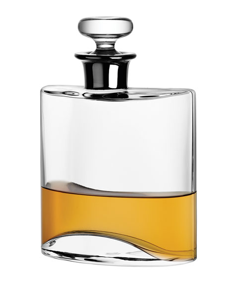 LSA Flask Decanter with Platinum Neck