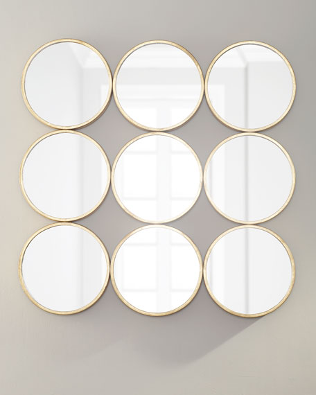 Square Circles Wall Decor