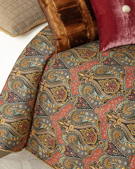 Spencer Paisley King Duvet Set