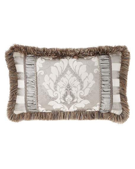 Austin Horn Collection Provence Pieced Lumbar Pillow