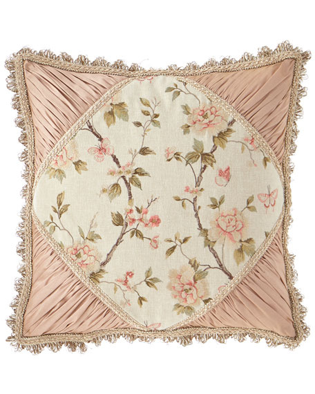 Delilah Pieced Square Pillow