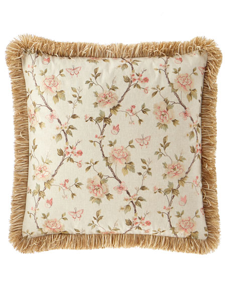 Sweet Dreams Delilah Floral Embroidered European Sham