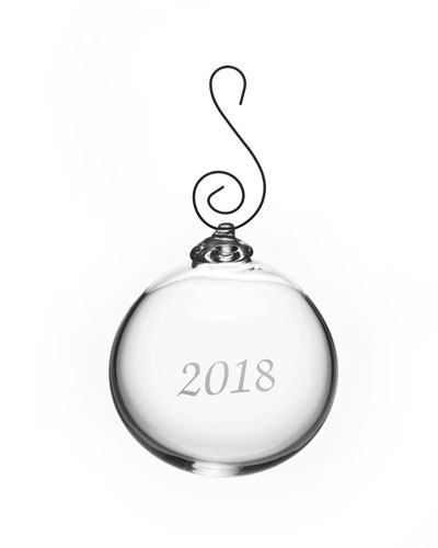 Annual Round Ornament in Gift Box