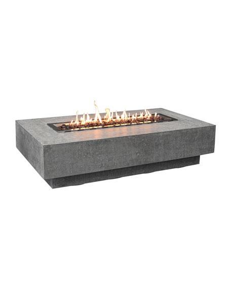 Hampton Fire Table, Natural Gas