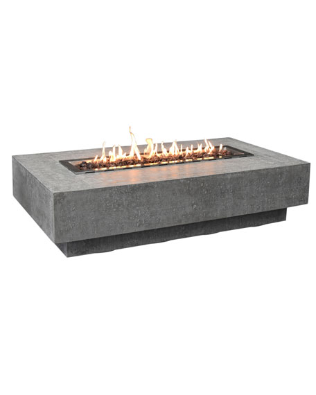 Hampton Outdoor Fire Table, LP Gas