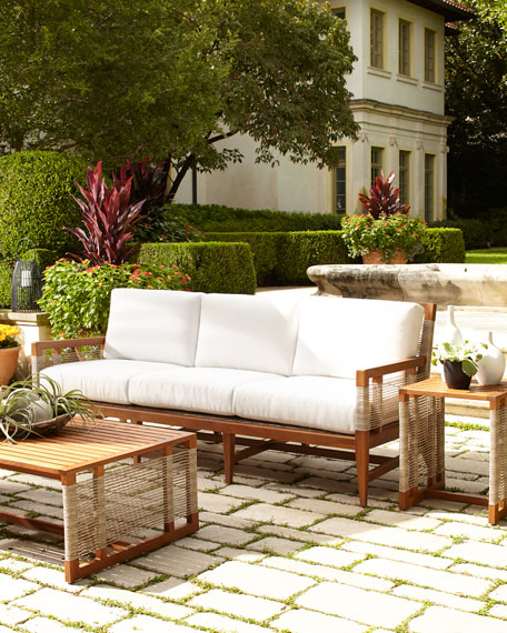 Amalfi Outdoor Sofa with Cushions